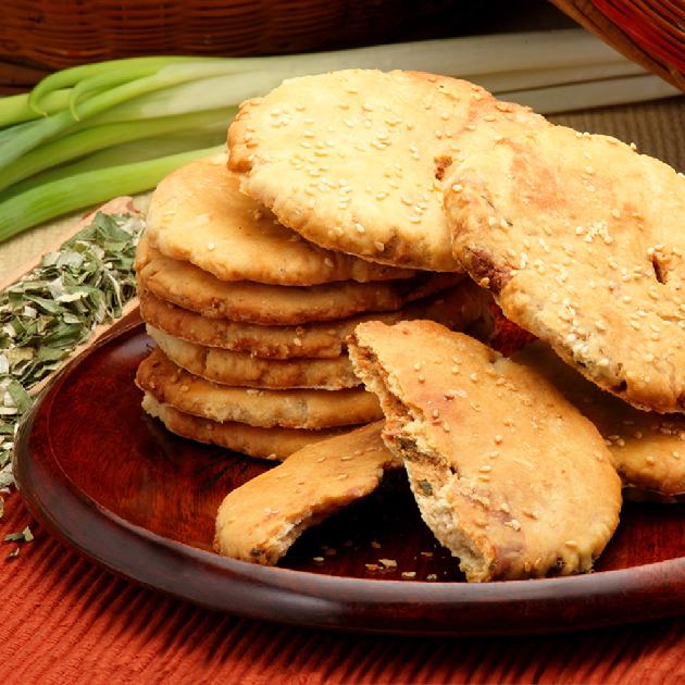 三星蔥燒餅-辣味 1